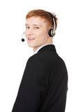 Charming customer service representative Royalty Free Stock Photos