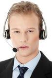 Charming customer service representative Royalty Free Stock Images