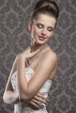 Charming elegant woman Royalty Free Stock Photo