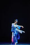 Charming-The emergence of Reiki snake-Chinese classical dance Royalty Free Stock Photo