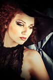 Charming enchantress Royalty Free Stock Photo