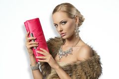 Charming fashion lady Royalty Free Stock Photos