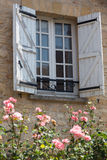 Charming French Window Stock Image