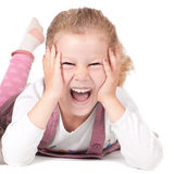 The charming girl Royalty Free Stock Photo