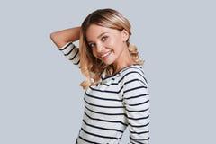 Charming girl. royalty free stock photos