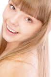 Charming girl close up Royalty Free Stock Images