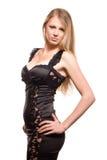 Charming girl - a model Royalty Free Stock Photos