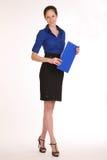 Charming girl secretary. Stock Images