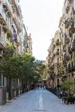Gothic Quarter streets in Barcelona Stock Photography