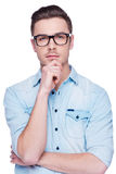 Charming handsome. Stock Photography