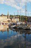 Charming Honfleur stock photography