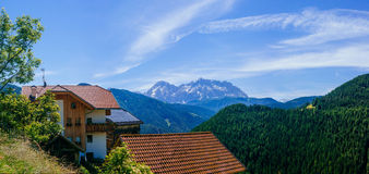 Charming house in the Alps Royalty Free Stock Photography