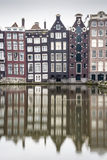 Charming houses and canal in Amsterdam, The Netherlands Stock Photography