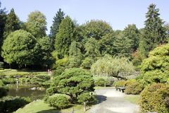 Charming Japanese garden Stock Photo