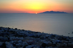 Before the dawn on Greek Islands Royalty Free Stock Images