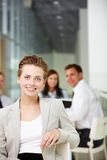 Charming leader Royalty Free Stock Image
