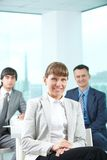 Charming leader Royalty Free Stock Photo