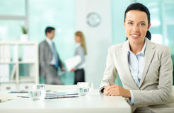 Charming leader Stock Photography