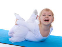 Charming little ballerina Royalty Free Stock Images