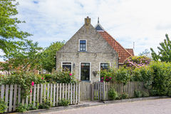 Charming little dutch house Stock Images