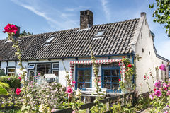 Charming little dutch house Royalty Free Stock Photo