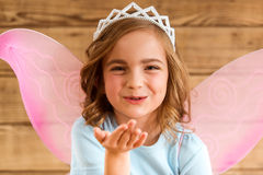 Charming little fairy Stock Images