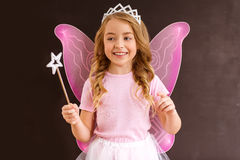 Charming little fairy Royalty Free Stock Image