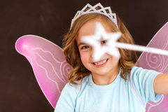 Charming little fairy Stock Photo