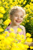 Charming little girl Stock Photo