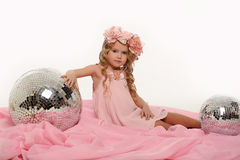 Charming little girl Royalty Free Stock Photos