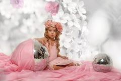 Charming little girl Stock Image
