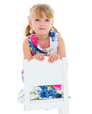 Charming little girl Stock Photography