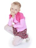 Charming little girl Royalty Free Stock Image