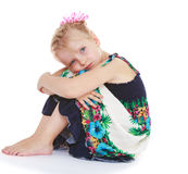 Charming little girl. Happiness, winter holidays, new year, and childhood stock photos