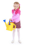 Charming little girl Stock Photos