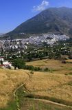 Charming little mountain town Chefchaouen Royalty Free Stock Images