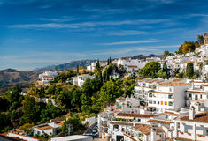 Charming little white village of Mijas Royalty Free Stock Photography