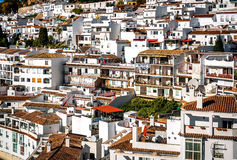 Charming little white village of Mijas Stock Image