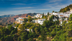 Charming little white village of Mijas Stock Images