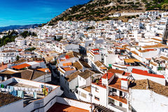 Charming little white village of Mijas Royalty Free Stock Images