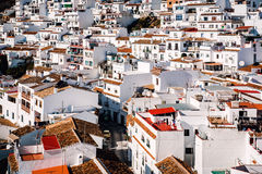 Charming little white village of Mijas Royalty Free Stock Photo
