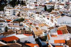 Charming little white village of Mijas Stock Photography