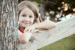 Smiling child portrait Royalty Free Stock Photo