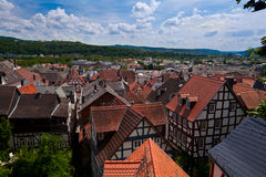 Charming Marburg city Royalty Free Stock Image