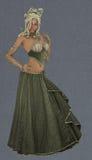 Charming Medusa Royalty Free Stock Photos