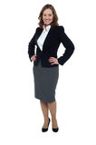 Charming middle aged businesswoman Royalty Free Stock Photos