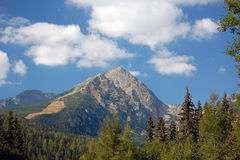 Charming mountain Royalty Free Stock Images