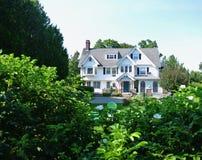 Coastal Cottage, Bar Harbor, Maine royalty free stock photography