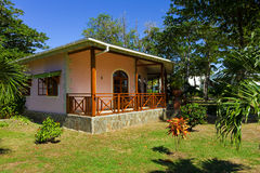 The charming office at bequia beach resort Stock Photography