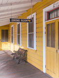 Charming old dining room. Quaint old dining room, Sonoma County, California stock images
